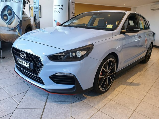 Demo Hyundai i30 PDe MY18 N Performance, 2018 Hyundai i30 PDe MY18 N Performance Performance Blue 6 Speed Manual Hatchback