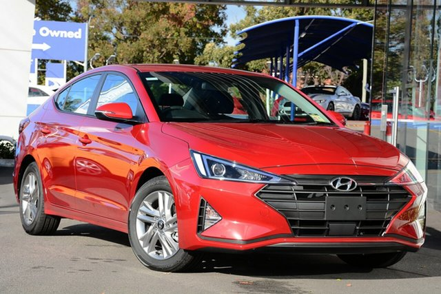 New Hyundai Elantra AD.2 MY19 Active, 2018 Hyundai Elantra AD.2 MY19 Active Fiery Red 6 Speed Sports Aut Sedan
