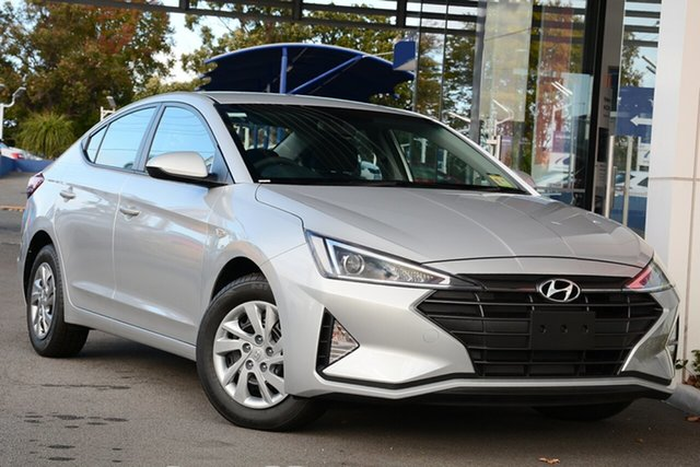 New Hyundai Elantra AD.2 MY19 Go, 2018 Hyundai Elantra AD.2 MY19 Go Platinum Silver 6 Speed Manual Sedan