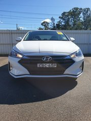 2018 Hyundai Elantra AD.2 MY19 Go Polar White 6 Speed Manual Sedan.