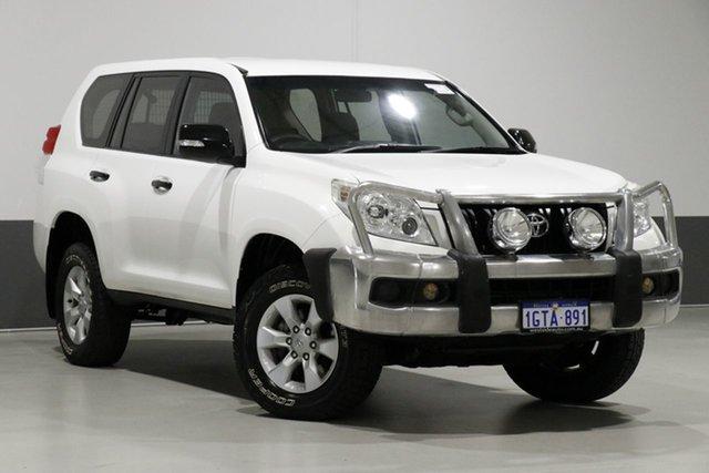 Used Toyota Landcruiser Prado KDJ150R 11 Upgrade GX (4x4), 2012 Toyota Landcruiser Prado KDJ150R 11 Upgrade GX (4x4) White 5 Speed Sequential Auto Wagon