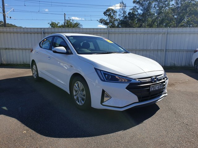 Demo Hyundai Elantra AD.2 MY19 Go, 2018 Hyundai Elantra AD.2 MY19 Go Polar White 6 Speed Manual Sedan