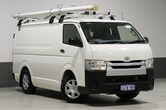 Used Toyota HiAce KDH201R MY14 LWB, 2015 Toyota HiAce KDH201R MY14 LWB White 5 Speed Manual Van