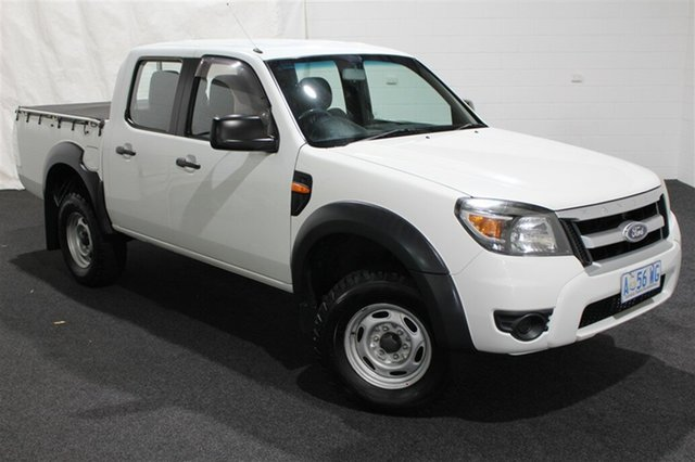 Used Ford Ranger PJ XL Super Cab 4x2 Hi-Rider, 2009 Ford Ranger PJ XL Super Cab 4x2 Hi-Rider White 5 Speed Manual Utility