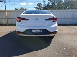 2018 Hyundai Elantra AD.2 MY19 Active Polar White 6 Speed Sports Automatic Sedan