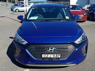 2018 Hyundai Ioniq AE.2 MY19 plug-in DCT Elite Intense Blue 6 Speed Sports Automatic Dual Clutch.