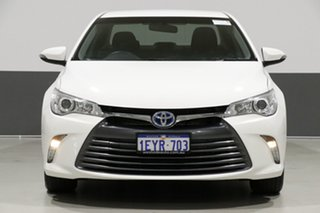 2015 Toyota Camry AVV50R MY15 Altise Hybrid White Continuous Variable Sedan.