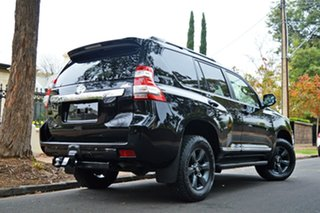 2015 Toyota Landcruiser Prado KDJ150R MY14 Altitude Black 5 Speed Sports Automatic Wagon.