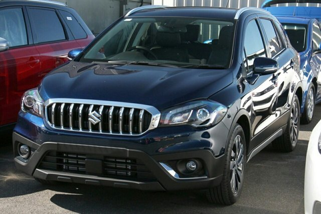 New Suzuki S-Cross JY Turbo Prestige Maitland, 2020 Suzuki S-Cross JY Turbo Prestige Blue 6 Speed Sports Automatic Hatchback