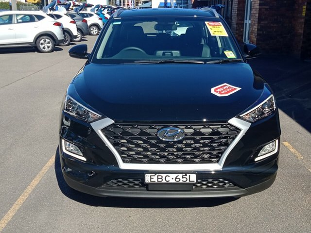 Demo Hyundai Tucson TL3 MY19 Active X 2WD, 2018 Hyundai Tucson TL3 MY19 Active X 2WD Phantom Black 6 Speed Automatic Wagon