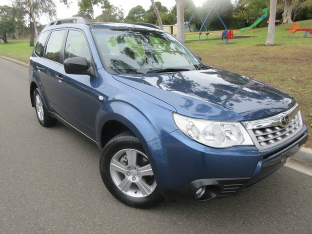 Used Subaru Forester S3 MY12 X AWD Luxury Edition, 2012 Subaru Forester S3 MY12 X AWD Luxury Edition Blue 4 Speed Sports Automatic Wagon