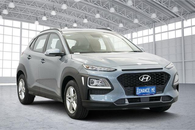Used Hyundai Kona OS MY18 Active 2WD, 2018 Hyundai Kona OS MY18 Active 2WD Silver 6 Speed Sports Automatic Wagon