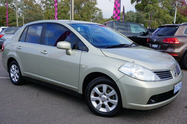 Used Nissan Tiida C11 MY07 ST-L, 2007 Nissan Tiida C11 MY07 ST-L Beige 6 Speed Manual Sedan