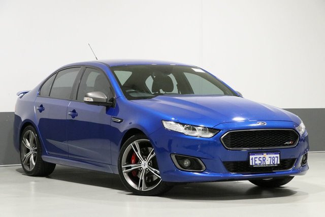 Used Ford Falcon FG X XR8, 2015 Ford Falcon FG X XR8 Kinetic Blue 6 Speed Auto Seq Sportshift Sedan