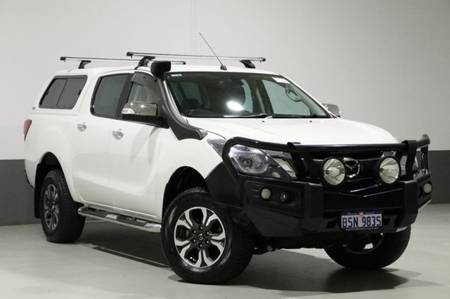 Used Mazda BT-50 MY16 GT (4x4), 2016 Mazda BT-50 MY16 GT (4x4) White 6 Speed Automatic Dual Cab Utility
