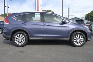 2012 Honda CR-V RM VTi 4WD Twilight Blue 5 Speed Automatic Wagon.