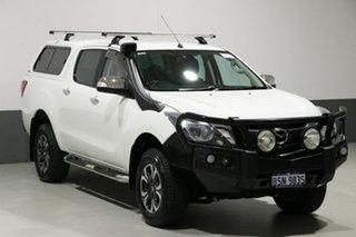 2016 Mazda BT-50 MY16 GT (4x4) White 6 Speed Automatic Dual Cab Utility