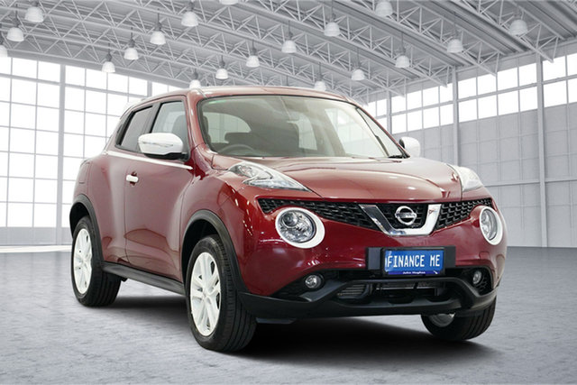 Used Nissan Juke F15 Series 2 ST X-tronic 2WD, 2016 Nissan Juke F15 Series 2 ST X-tronic 2WD Red 1 Speed Constant Variable Hatchback