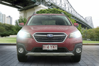 2018 Subaru Outback B6A MY18 2.5i CVT AWD Premium Crimson Red 7 Speed Constant Variable Wagon.