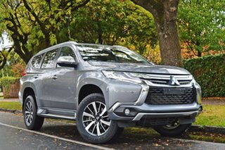 2017 Mitsubishi Pajero Sport QE MY17 Exceed Grey 8 Speed Sports Automatic Wagon.