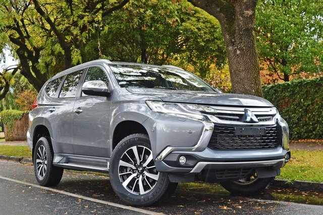 Used Mitsubishi Pajero Sport QE MY17 Exceed, 2017 Mitsubishi Pajero Sport QE MY17 Exceed Grey 8 Speed Sports Automatic Wagon