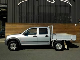 2003 Holden Rodeo RA LX Crew Cab Silver 5 Speed Manual Cab Chassis