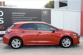 2018 Toyota Corolla Mzea12R SX Volcanic Red 10 Speed Constant Variable Hatchback