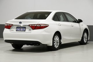 2015 Toyota Camry AVV50R MY15 Altise Hybrid White Continuous Variable Sedan