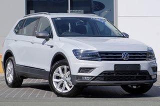2018 Volkswagen Tiguan 5N MY18 110TSI DSG 2WD Comfortline White Silver 6 Speed.