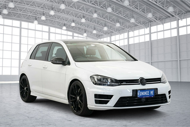 Used Volkswagen Golf VII MY16 R DSG 4MOTION Wolfsburg Edition, 2015 Volkswagen Golf VII MY16 R DSG 4MOTION Wolfsburg Edition White 6 Speed