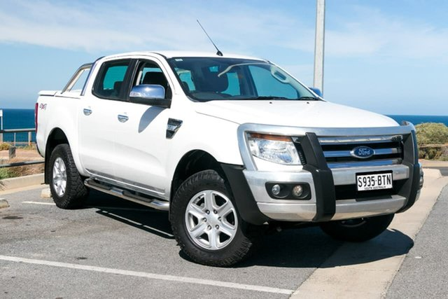 Used Ford Ranger PX XLT, 2013 Ford Ranger PX XLT White 6 Speed Sports Automatic Utility