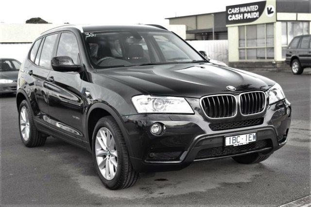Used BMW X3 F25 MY1213 xDrive20d Steptronic, 2014 BMW X3 F25 MY1213 xDrive20d Steptronic Black 8 Speed Automatic Wagon