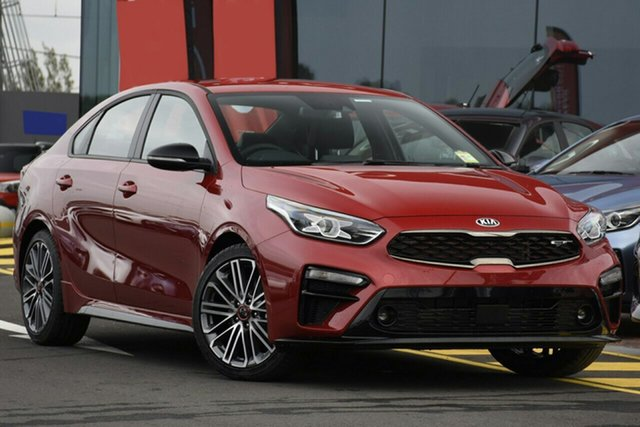 New Kia Cerato BD MY19 GT DCT, 2019 Kia Cerato BD MY19 GT DCT Runway Red 7 Speed Sports Automatic Dual Clutch Sedan