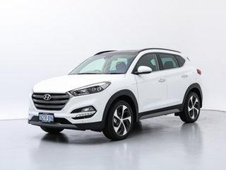 2018 Hyundai Tucson TLE2 MY18 Highlander (AWD) Polar White 7 Speed Auto Dual Clutch Wagon