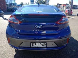 2018 Hyundai Ioniq AE.2 MY19 electric Premium Intense Blue 1 Speed Reduction Gear Fastback.