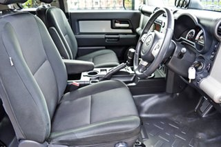 2011 Toyota FJ Cruiser GSJ15R Silver 5 Speed Automatic Wagon