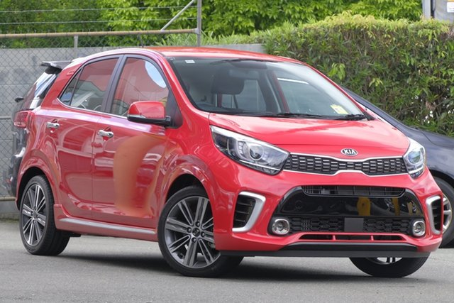 New Kia Picanto JA MY19 GT, 2019 Kia Picanto JA MY19 GT Signal Red 5 Speed Manual Hatchback