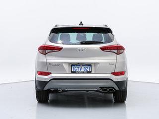 2018 Hyundai Tucson TLE2 MY18 Highlander (AWD) White Sand 7 Speed Auto Dual Clutch Wagon