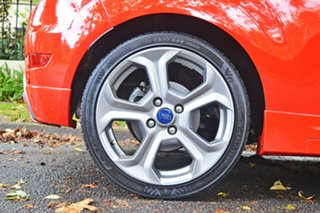 2015 Ford Fiesta WZ MY15 ST Red 6 Speed Manual Hatchback