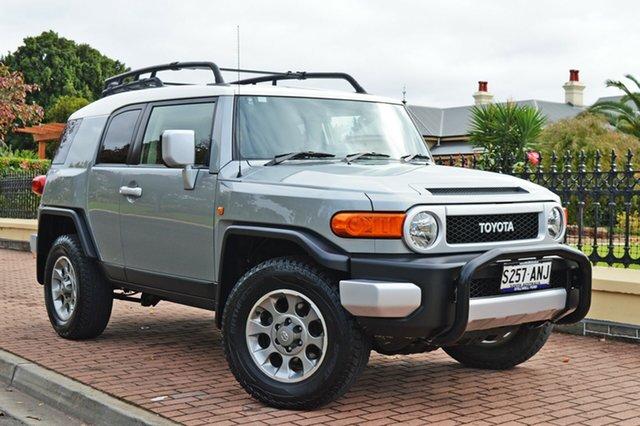 Used Toyota FJ Cruiser GSJ15R , 2011 Toyota FJ Cruiser GSJ15R Silver 5 Speed Automatic Wagon