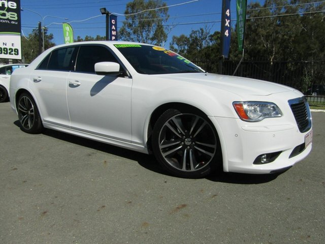 Used Chrysler 300  SRT8 Core, 2013 Chrysler 300 SRT8 Core White 5 Speed Automatic Sedan