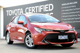 2018 Toyota Corolla Mzea12R SX Volcanic Red 10 Speed Constant Variable Hatchback.