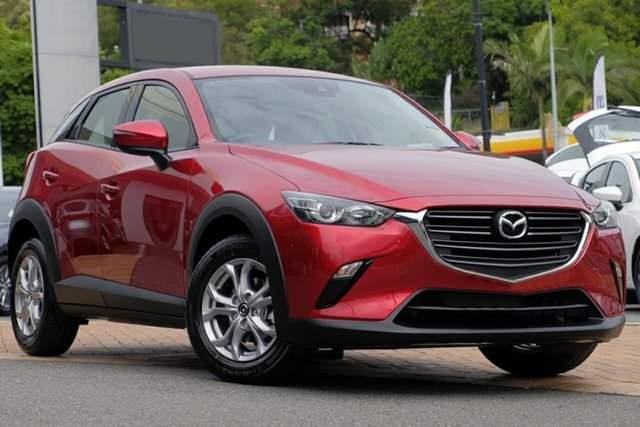 New Mazda CX-3 CX3E Maxx Sport (FWD) Liverpool, 2020 Mazda CX-3 CX3E Maxx Sport (FWD) Soul Red Crystal 6 Speed Automatic Wagon