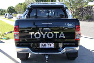 2014 Toyota Hilux KUN26R MY14 SR5 Double Cab Eclipse Black 5 Speed Automatic Utility