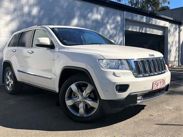 Used Jeep Grand Cherokee WK MY2012 Limited, 2012 Jeep Grand Cherokee WK MY2012 Limited White 5 Speed Sports Automatic Wagon