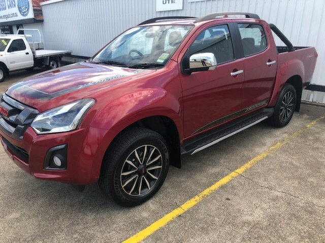 New Isuzu D-MAX MY19 X-Runner Crew Cab, 2019 Isuzu D-MAX MY19 X-Runner Crew Cab Magnetic Red 6 Speed Sports Automatic Utility
