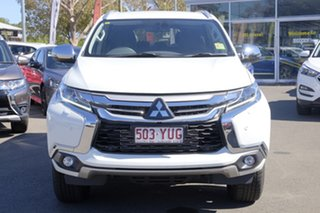 2018 Mitsubishi Pajero Sport QE MY18 Exceed White 8 Speed Sports Automatic Wagon.
