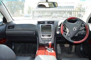 2008 Lexus GS450H GWS191R MY08 Hybrid Twilight Blue Continuous Variable Sedan