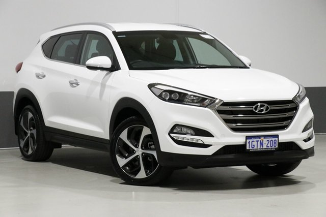 Used Hyundai Tucson TLE Elite R-Series (AWD), 2016 Hyundai Tucson TLE Elite R-Series (AWD) White 6 Speed Automatic Wagon