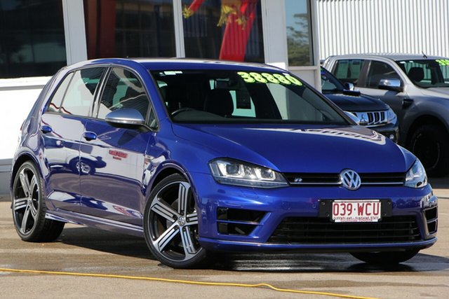 Used Volkswagen Golf VII MY15 R DSG 4MOTION, 2015 Volkswagen Golf VII MY15 R DSG 4MOTION Blue 6 Speed Sports Automatic Dual Clutch Hatchback